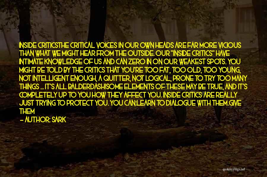 Knowledge And Creativity Quotes By SARK