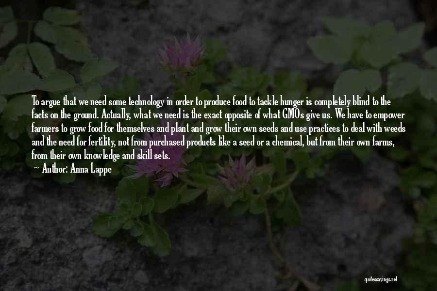 Knowledge Is Food Quotes By Anna Lappe
