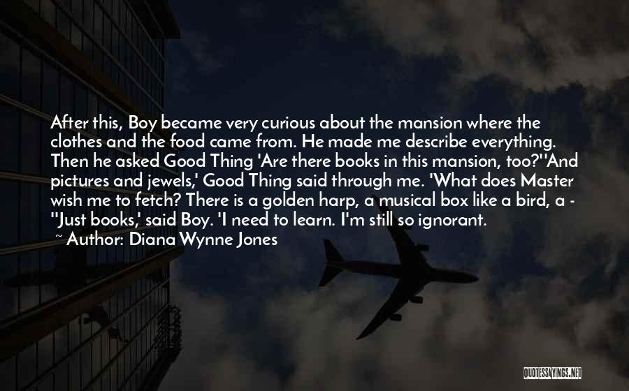 Knowledge Is Food Quotes By Diana Wynne Jones