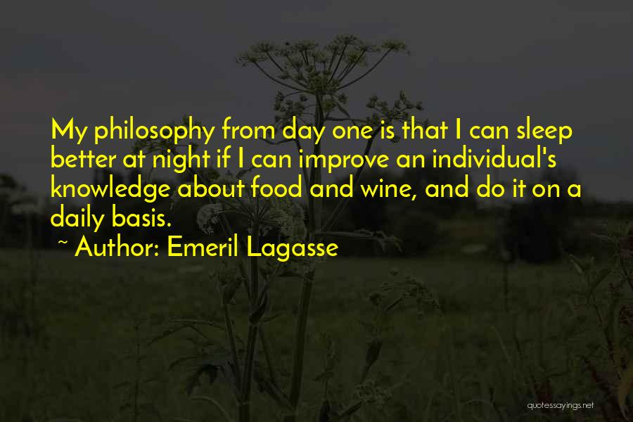Knowledge Is Food Quotes By Emeril Lagasse