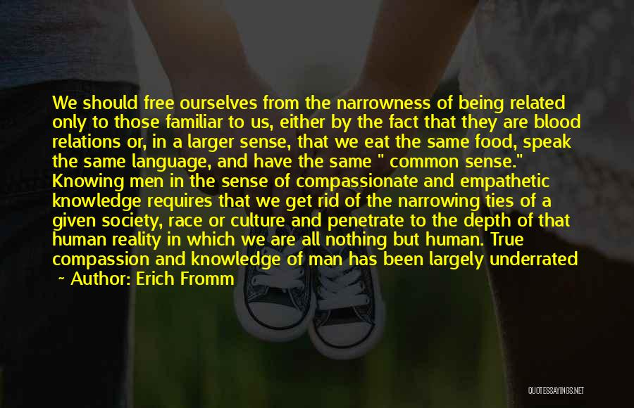 Knowledge Is Food Quotes By Erich Fromm