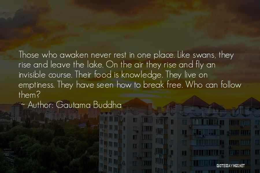Knowledge Is Food Quotes By Gautama Buddha