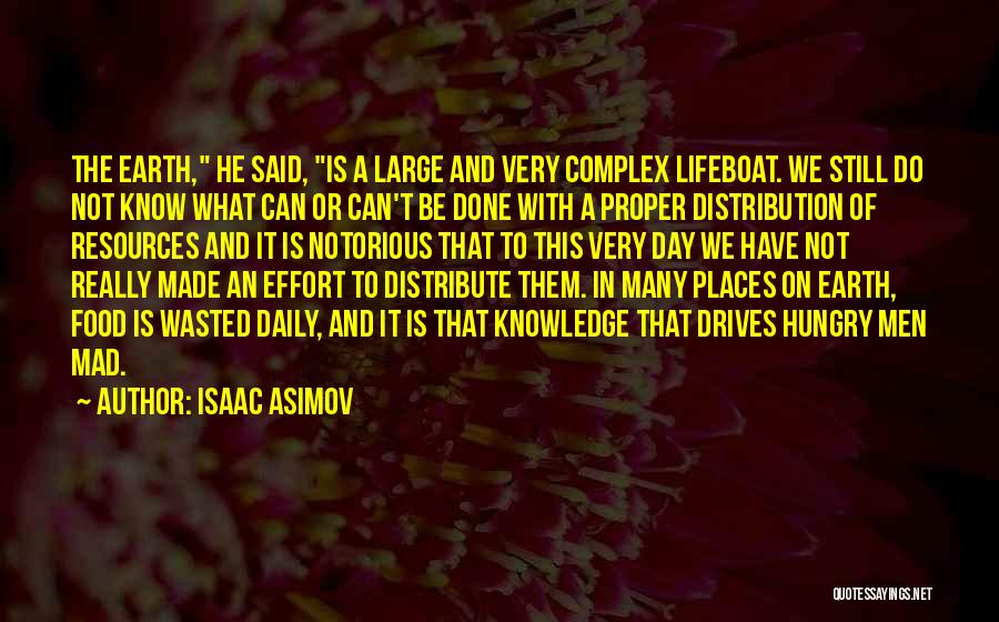 Knowledge Is Food Quotes By Isaac Asimov