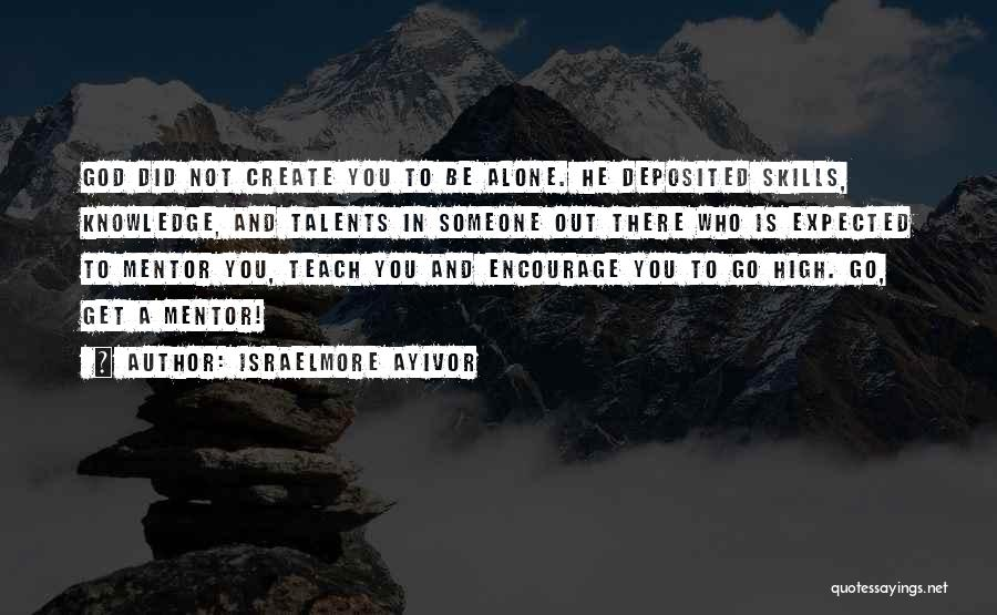 Knowledge Is Food Quotes By Israelmore Ayivor