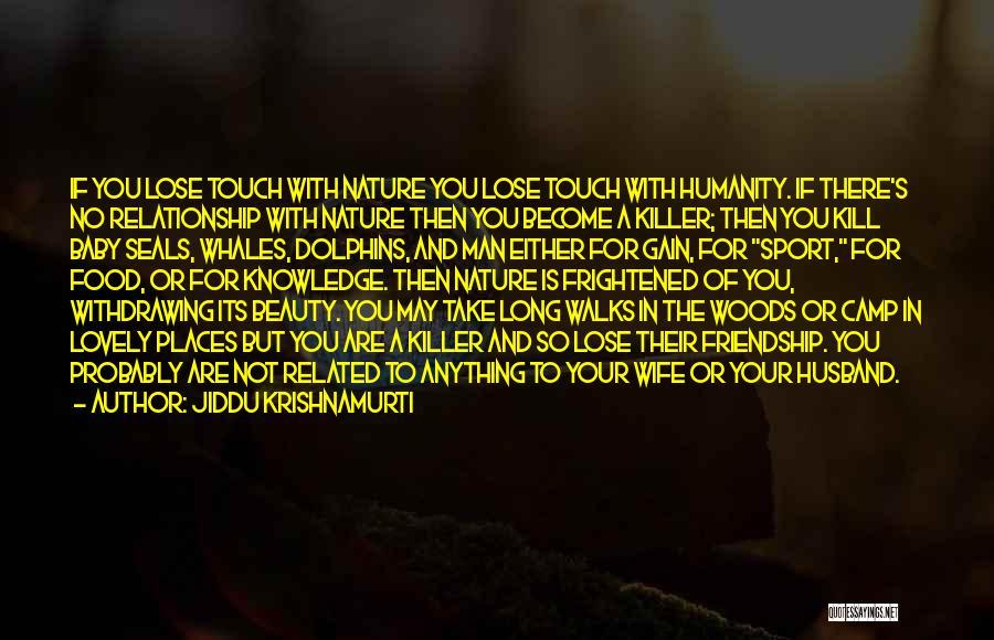 Knowledge Is Food Quotes By Jiddu Krishnamurti
