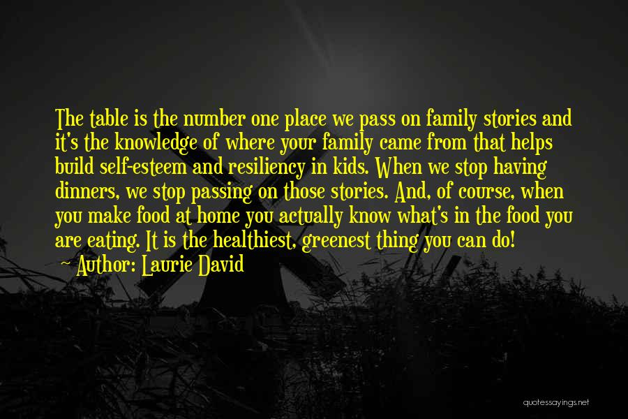 Knowledge Is Food Quotes By Laurie David
