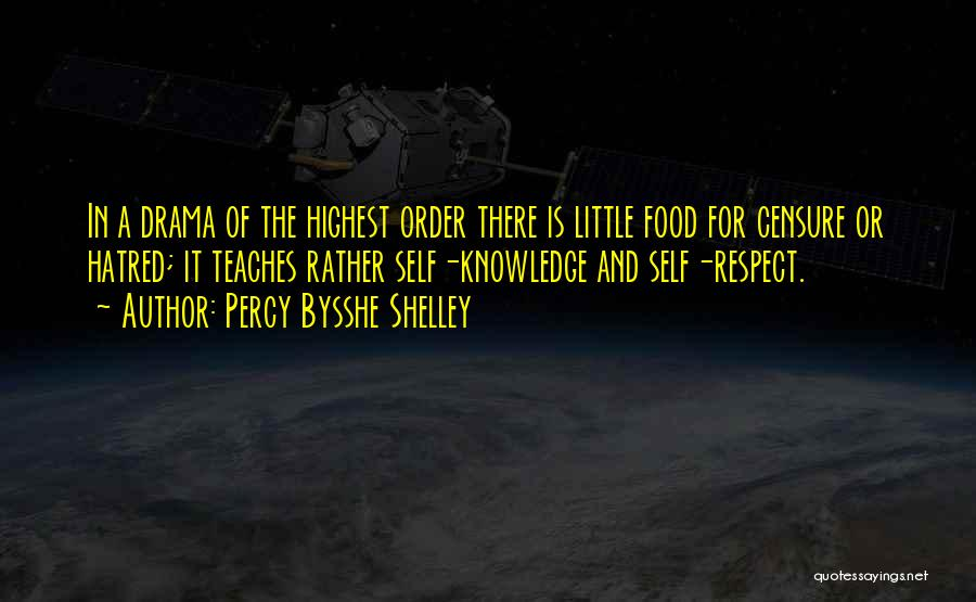 Knowledge Is Food Quotes By Percy Bysshe Shelley