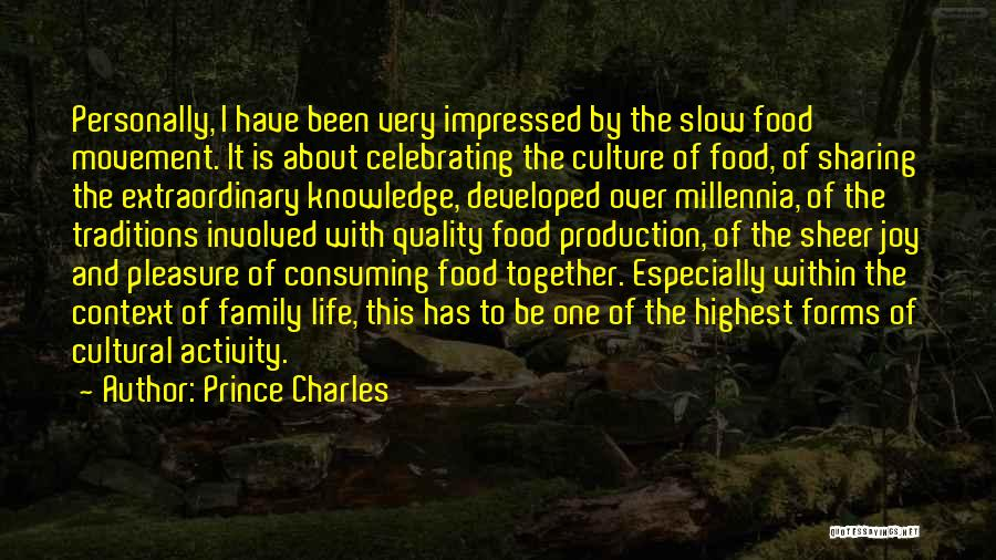 Knowledge Is Food Quotes By Prince Charles