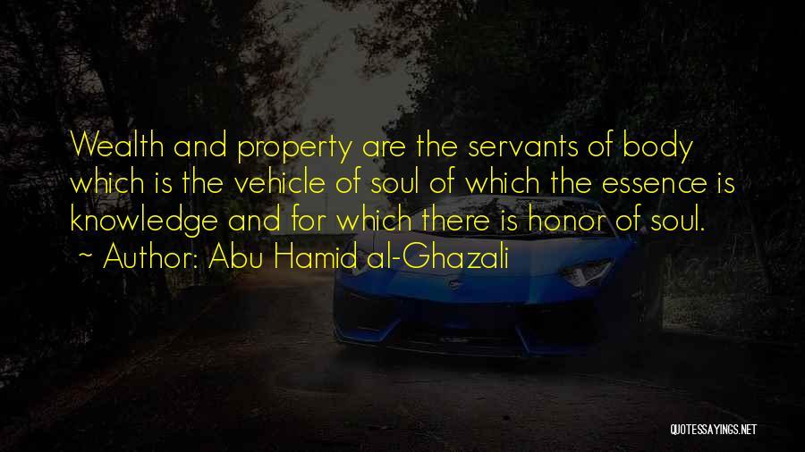 Knowledge Is Wealth Quotes By Abu Hamid Al-Ghazali