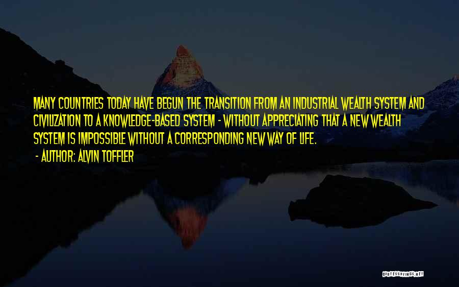 Knowledge Is Wealth Quotes By Alvin Toffler