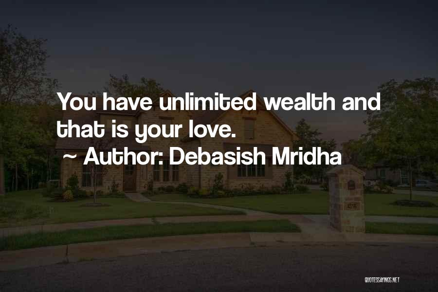 Knowledge Is Wealth Quotes By Debasish Mridha