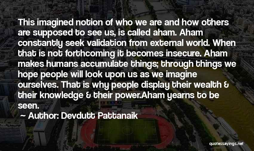 Knowledge Is Wealth Quotes By Devdutt Pattanaik