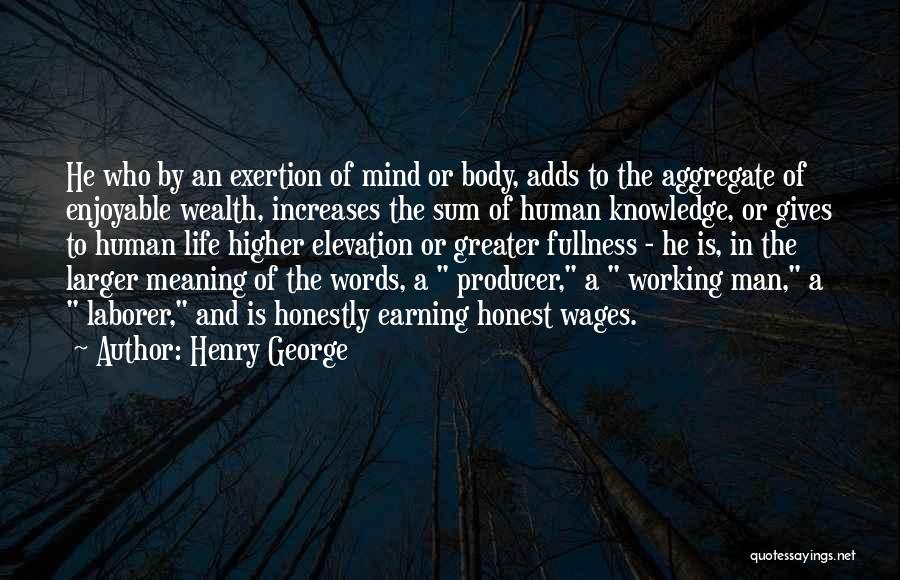 Knowledge Is Wealth Quotes By Henry George