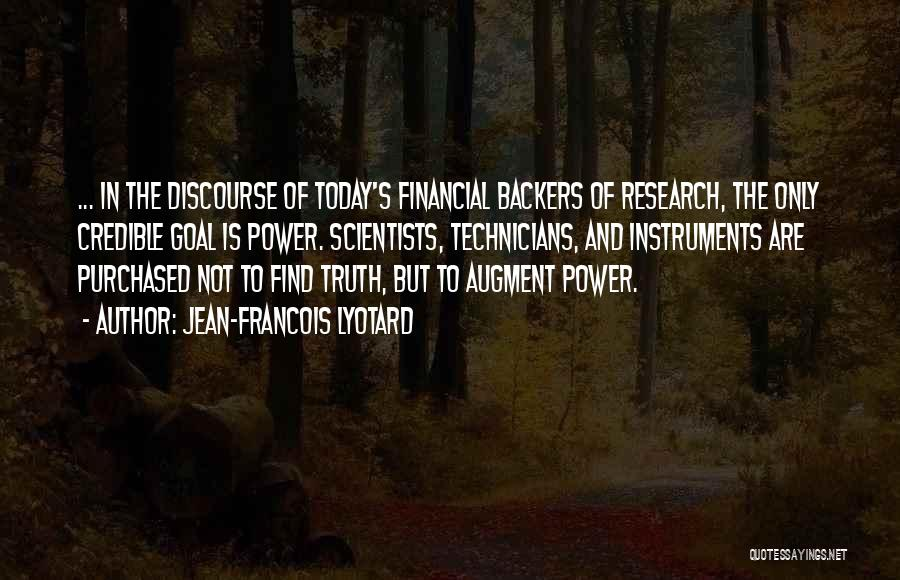 Knowledge Is Wealth Quotes By Jean-Francois Lyotard