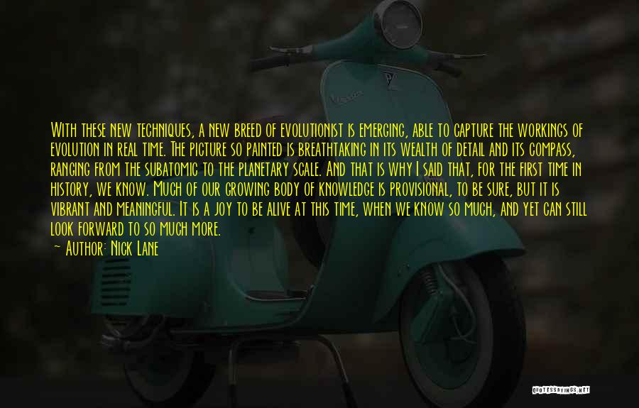 Knowledge Is Wealth Quotes By Nick Lane