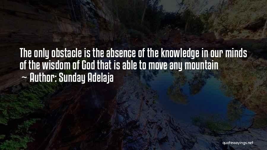 Knowledge Is Wealth Quotes By Sunday Adelaja