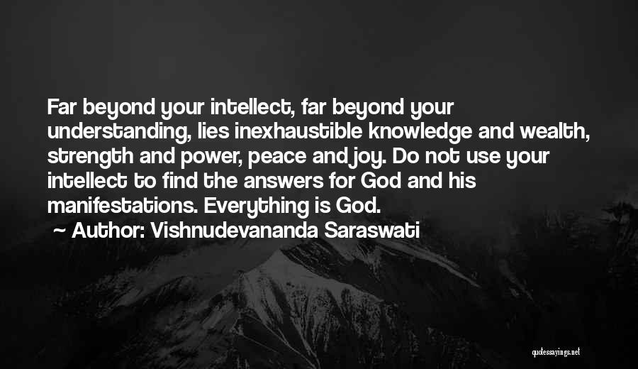 Knowledge Is Wealth Quotes By Vishnudevananda Saraswati