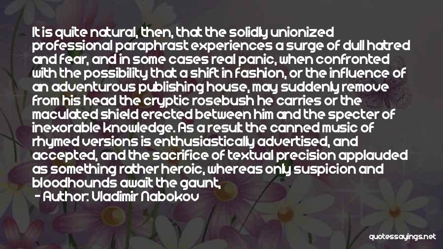 Knowledge Is Wealth Quotes By Vladimir Nabokov
