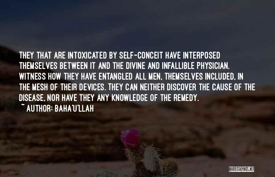 Knowledge Of Self Quotes By Baha'u'llah