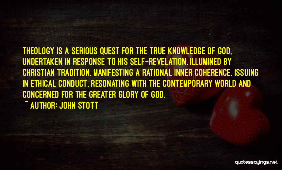Knowledge Of Self Quotes By John Stott