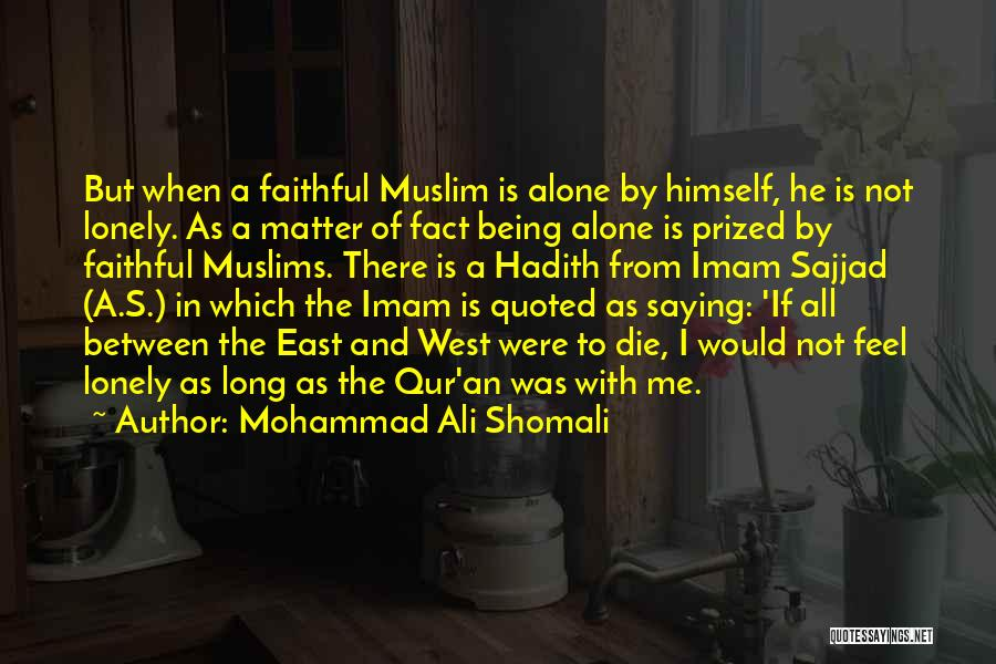 Knowledge Of Self Quotes By Mohammad Ali Shomali
