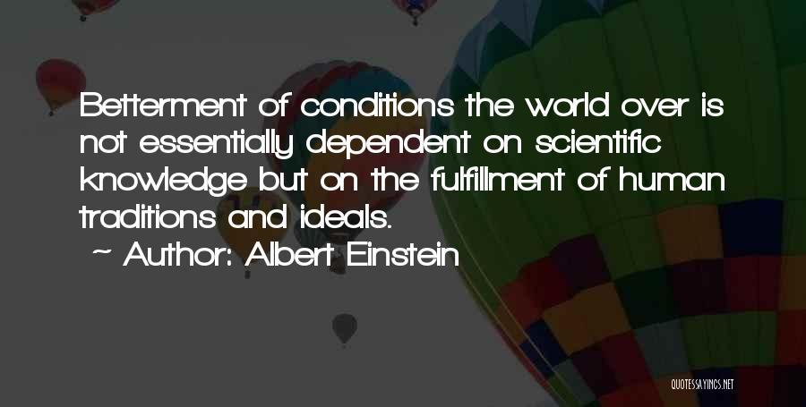 Knowledge Of The World Quotes By Albert Einstein