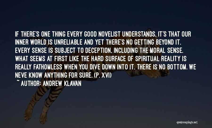 Knowledge Of The World Quotes By Andrew Klavan