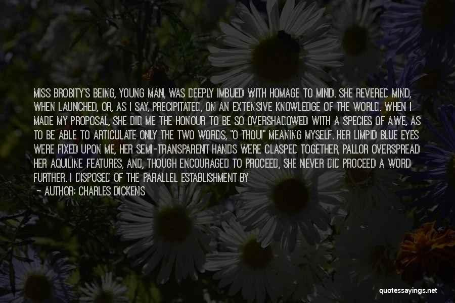 Knowledge Of The World Quotes By Charles Dickens