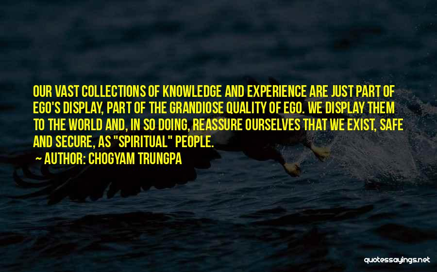 Knowledge Of The World Quotes By Chogyam Trungpa