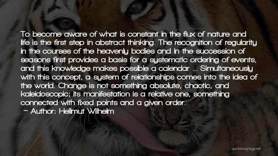 Knowledge Of The World Quotes By Hellmut Wilhelm