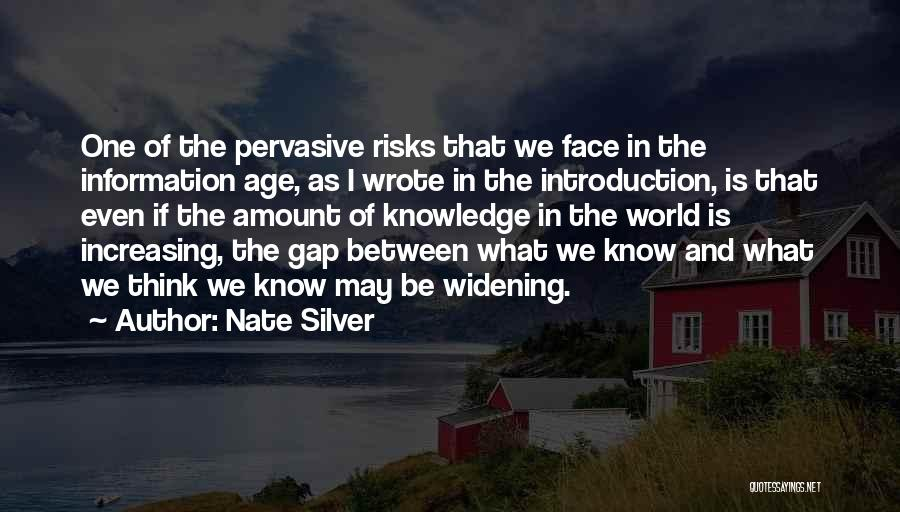 Knowledge Of The World Quotes By Nate Silver