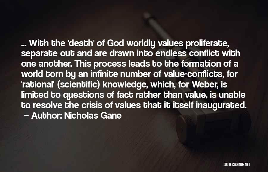 Knowledge Of The World Quotes By Nicholas Gane