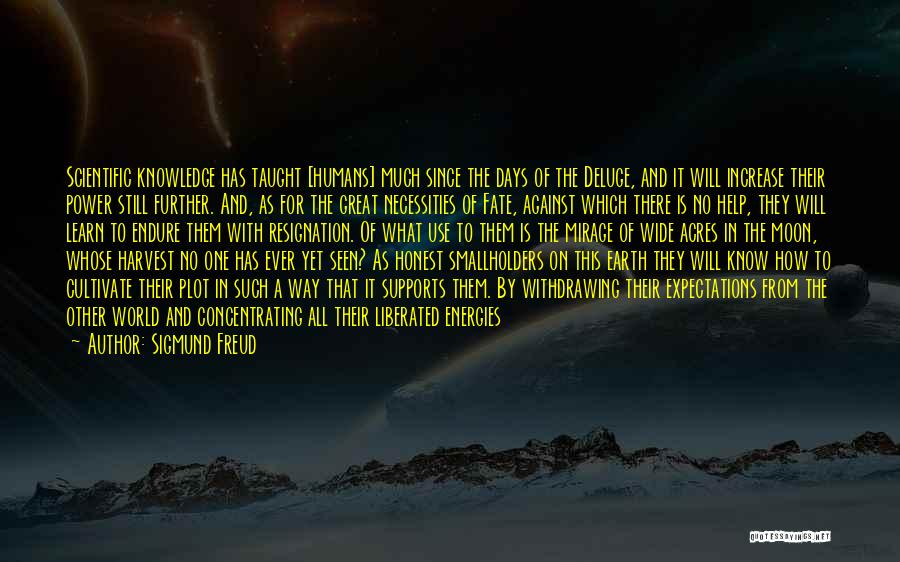 Knowledge Of The World Quotes By Sigmund Freud