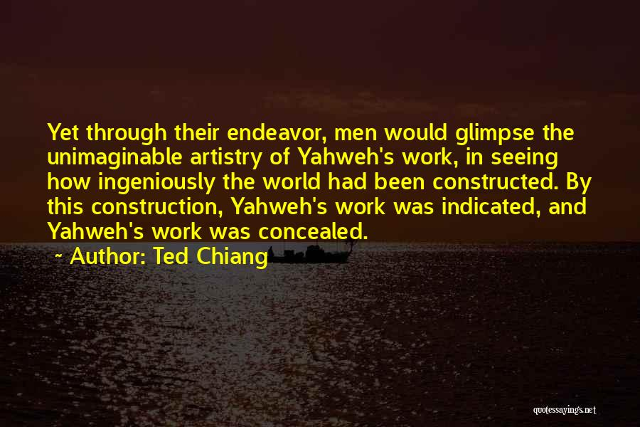 Knowledge Of The World Quotes By Ted Chiang