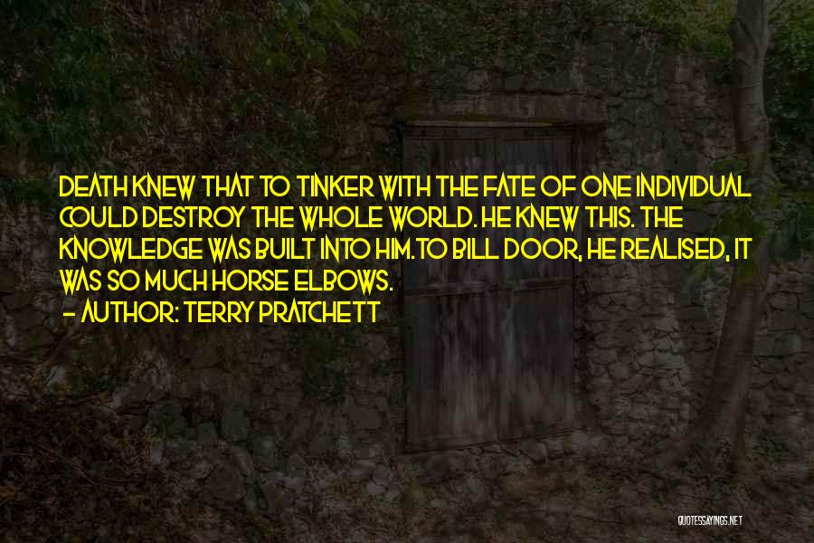 Knowledge Of The World Quotes By Terry Pratchett