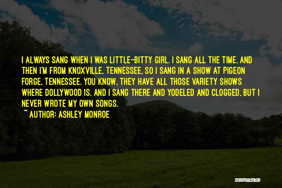 Knoxville Quotes By Ashley Monroe