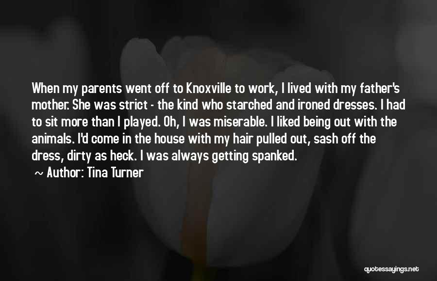 Knoxville Quotes By Tina Turner