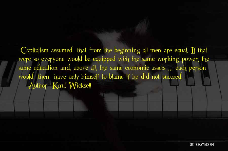 Knut Wicksell Quotes 1202242