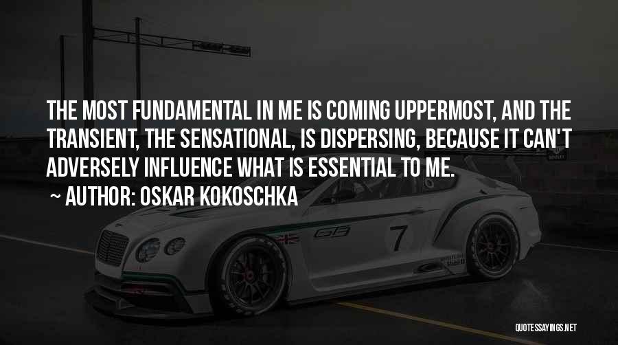 Kokoschka Quotes By Oskar Kokoschka