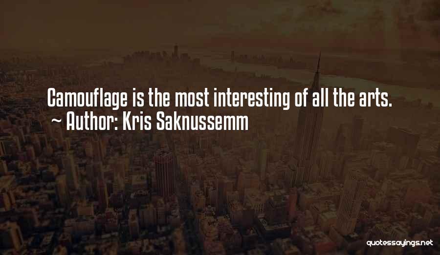 Kris Saknussemm Quotes 396441