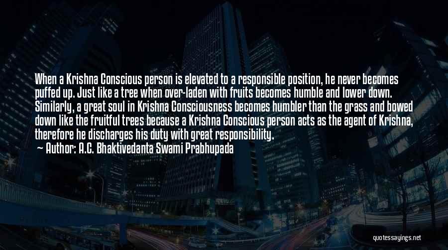Krishna Conscious Quotes By A.C. Bhaktivedanta Swami Prabhupada