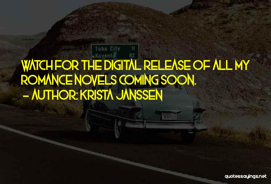 Krista Janssen Quotes 2160456