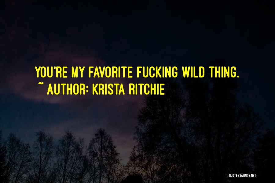 Krista Ritchie Quotes 1304901