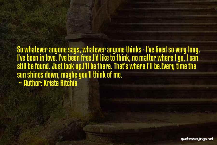 Krista Ritchie Quotes 1521725