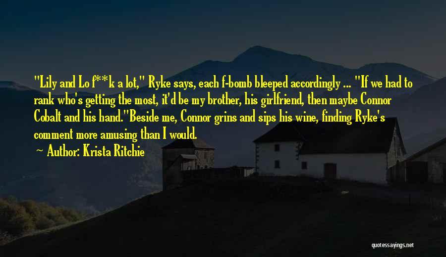 Krista Ritchie Quotes 1588923