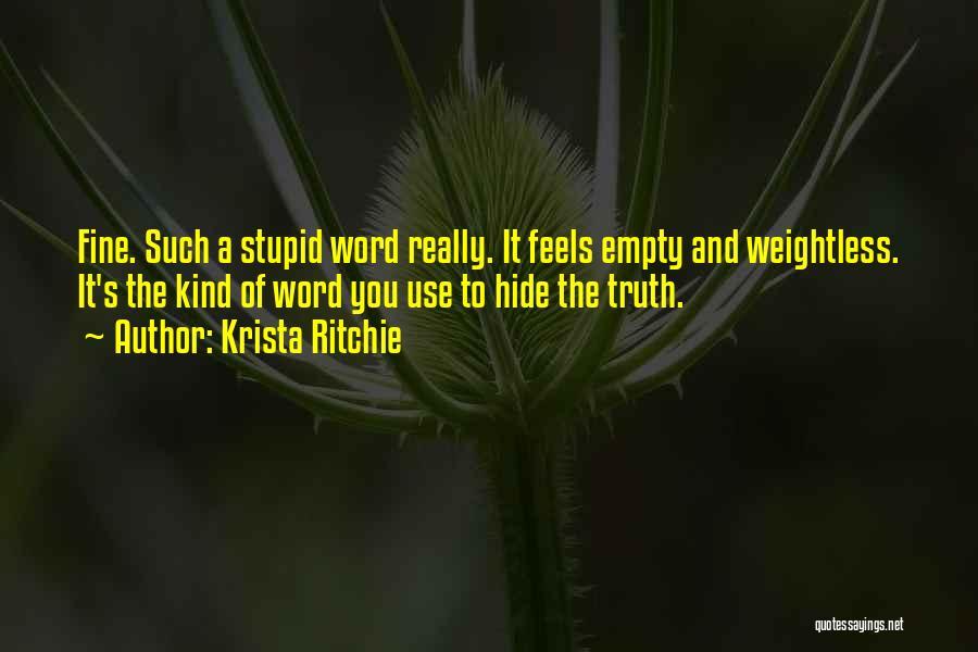 Krista Ritchie Quotes 2216283
