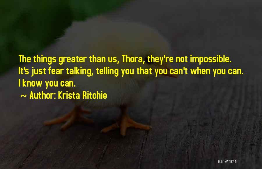 Krista Ritchie Quotes 669369