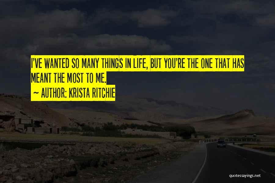 Krista Ritchie Quotes 783757