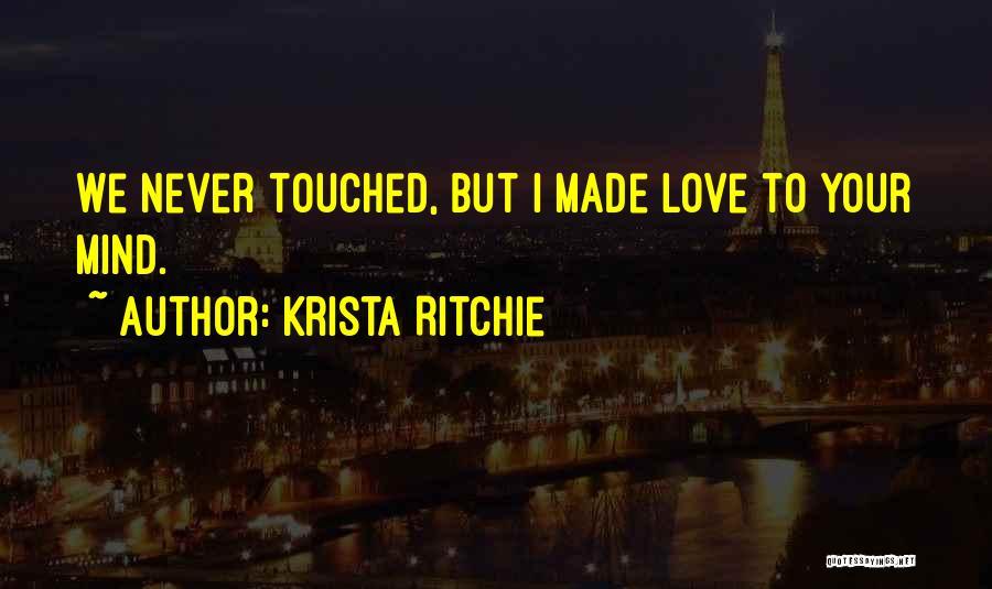 Krista Ritchie Quotes 856703