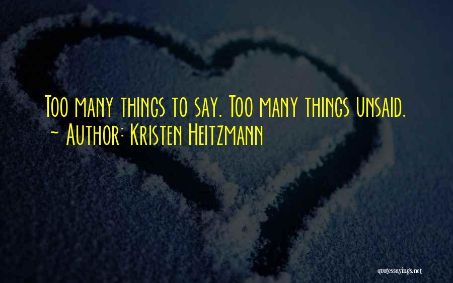 Kristen Heitzmann Quotes 1769965